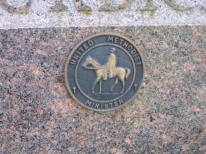 Cemetery emblem
