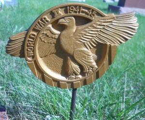 Cemetery Military emblem
