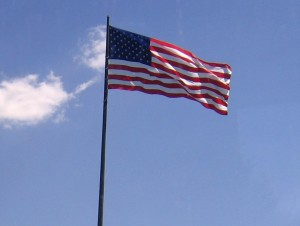 Standing Tall and Proud in the U.S.A.